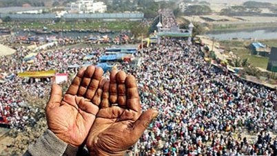 বিরোধ কাটেনি আয়োজক দু'গ্রুপের মুসল্লীদের