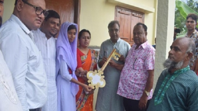 ময়মনসিংহে ১৪৫টি পরিবার পাচ্ছেন সরকারি বসতঘর