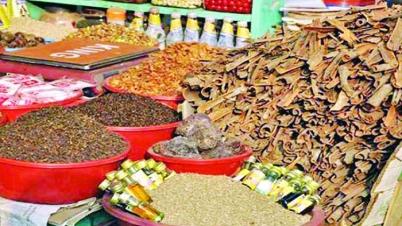ঊর্ধ্বমুখি সবজি-মসলার বাজার