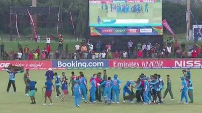 বাংলাদেশ-ভারত ফাইনালে হাতাহাতি, ৫ ক্রিকেটার নিষিদ্ধ