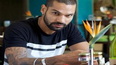 কোয়ারেন্টিনে ভারতীয় ক্রিকেটার শিখর ধাওয়ান