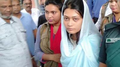 রিফাত হত্যা: ফাঁসির দণ্ডপ্রাপ্ত আসামী মিন্নি কাশিমপুর কারাগারে