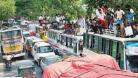 ঢাকা-টাঙ্গাইল মহাসড়কে ৪৫ কি.মি যানজট